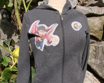 Harry Potter Hoodie Sweetshirt Size Women's Small