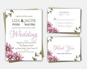 Wedding Invitation Suite,...