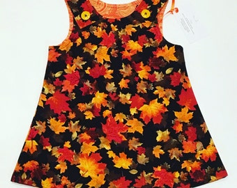 New fall leaves size 3t toddler girls dress