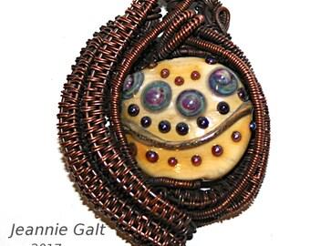 Lampwork  Art Jewelry by Jeanniesbeads #1900
