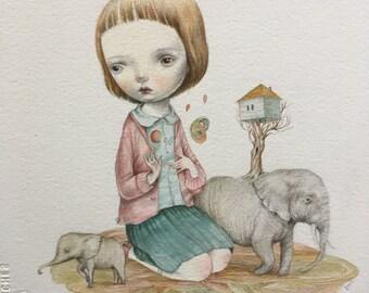 Forgotten dream - giclee print 6/50