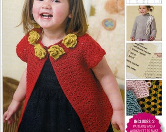 Design Your Own Crocheted Baby Sweater With Robyn Chachula