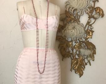 1930s lingerie set bra and undies van raalte set size medium 36 bust vintage lingerie set tap shorts flapper lingerie