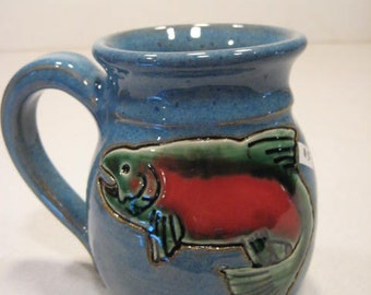 Smaller Sized Trout  Mug ........  a64