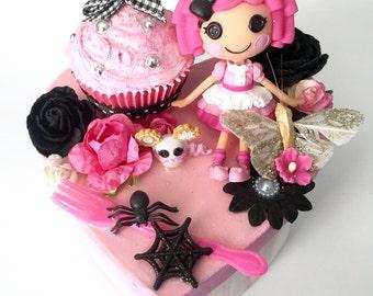 Creepy Cute Valentine's Lalaloopsy Sweets Doll Jewelry Heart Trinket Box