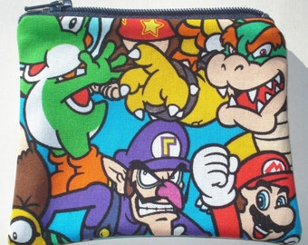 Super Mario Brothers Coin Pouch: Videogames, Geekery.