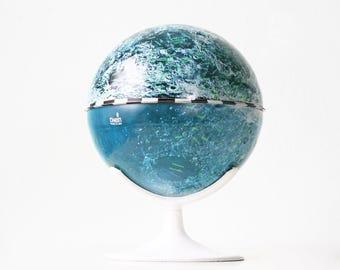Vintage Moon Globe, Chein Tin Lunar Globe