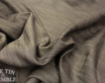 Lightweight Denim Fabric - Black - 1 Yard - Cotton Fabric / Fabric by Yard / New Fabric / Sewing Supplies / Denim by Yard / Chambray