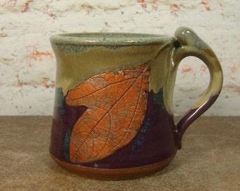Sassafras Leaf Treehugger Mug
