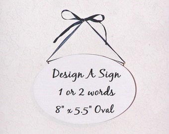 Custom sign etsy for Design your own house sign