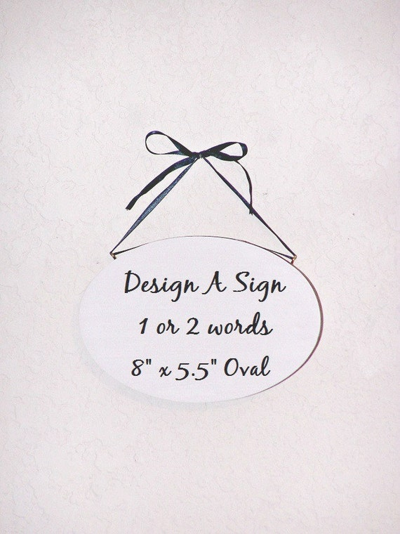 Design A Custom Sign Wood Home Decor Create Your Own Modern