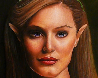 Elf Portrait - Fine Art Print - 13x17