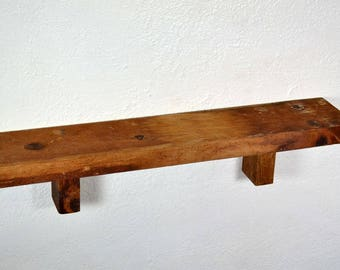 "Farmhouse shelf reclaimed barnwood 26"" x 5"" x 5.5"""