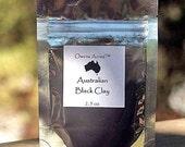 SALE... Facial Clay - Australian Black 2.5 oz., Mascara, Eye Shadow, Smokey Eye, Halloween, Eye Liner, Black Dye