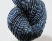 A Raven's Call - Dyed to Order - Hand Dyed - Merino Wool Yarn - Fingering Weight