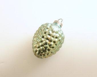 Vintage Christmas Ornament Glass Ornament Fancy Berry Christmas Decoration