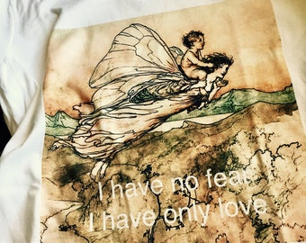 Stevie Nicks ~ Fleetwood Mac ~ gypsy t shirt  ~ stevie nicks style ~ super soft 100% cotton ~ I have no fear I have only love