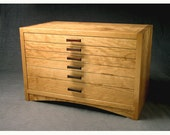 Arched Apron Jewelry Chest--