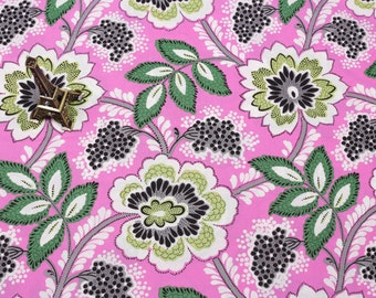 4316 - Flowers Cotton Fabric - 59 Inch (Width) x 1/2 Yard (Length)