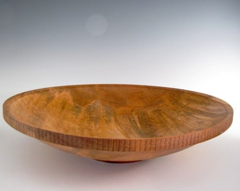 Wood Bowl - Ambrosia Maple - Wood Turned Platter or Bowl - Holiday Gift - Christmas Gift - Wood Turning Bowl - Fruit or Salad Bowl