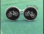 Bike cufflinks, Bicycle cufflinks, Gift for Cyclist Gift, Cyclist Cufflinks, Bicycle Jewelry, Bike Cuff Links, Cyclist Gift, Triatholon Gift