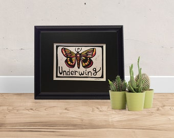 U is for Underwing