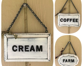 Mini Chunkies Hand-Painted Farmhouse Signs