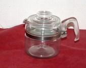 Pyrex Glass Coffeepot - Four Cup - Original