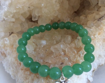 Green Aventurine Bracelet for Luck With Love and Money