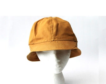 1960's Tan Cotton Dri Duck Cap