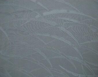 Vintage kimono S295, spruce green silk