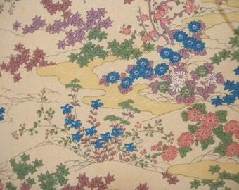 Vintage kimono S537, komon, silk