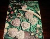 Thread Crocheting Patterns Sweetheart Sachets Leisure Arts 2064 Crochet Pattern Leaflet  Anne Halliday
