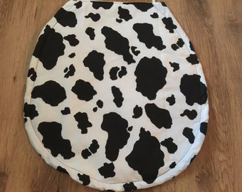 New Cow Spots Moo! Toilet Seat Cover