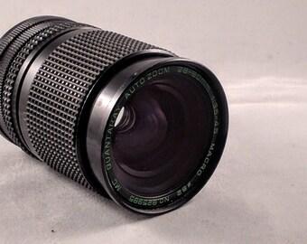 Quantaray Auto Zoom 28-80mm f/3.5-4.6 Macro FD Mount zoom lens