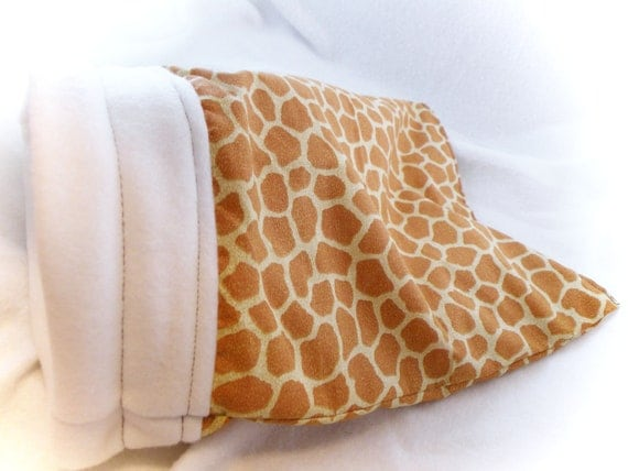 Giraffe Little Critter Plush Snuggle Sleep Sack Bed for Your Favorite Little Pet