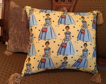 "Picture Perfect Pillows: ""Blue Simplicity"" Set of 2"