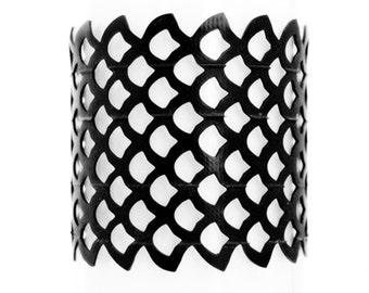 Siren - Recycled Inner tube Cuff