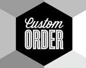 CUSTOM ORDER - Eames rocker chair print, roffice art. kitchen art, Mid Century Modern, Nursery art, Interior design, A3 print