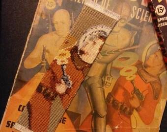 PATTERN: Captain Future Cross Stitch Bookmark