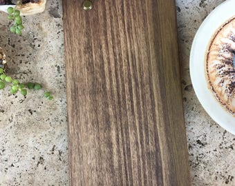 Wooden Menu Board