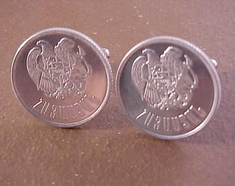 Armenia Coin Cuff Links