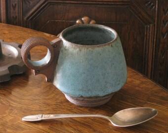 Industrial Blue Mug