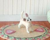 Needle felted dog -- Custom order Chihuahua
