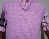 2 - 18 Inch Doll Vest (Lilac)