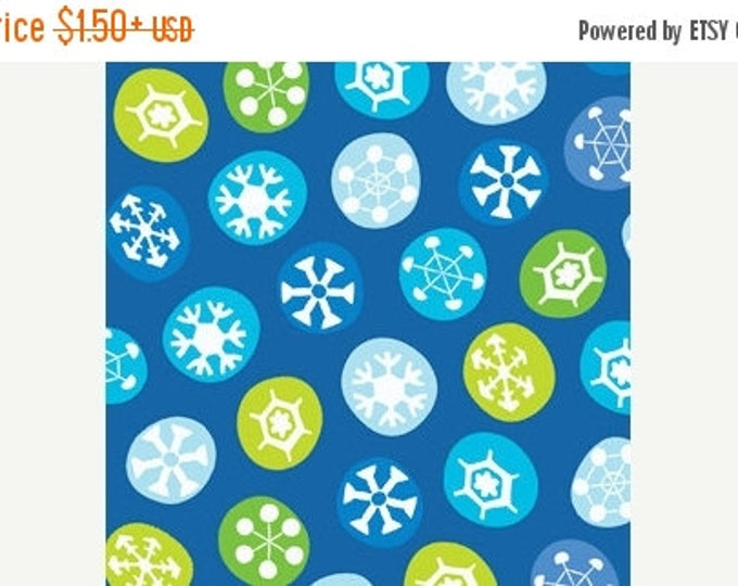 On Sale Holiday Christmas Fabric Frosty The Snowman Silly Snowman Snowflakes Childrens Cotton  Fabric