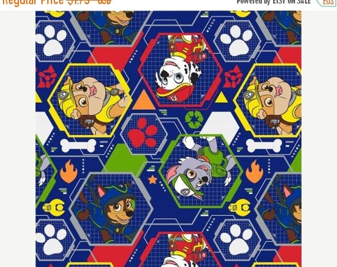 Paw Patrol Fabric, Navy/Multi Mission Pawsible Children's Cotton Fabric