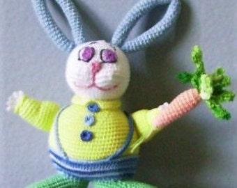 Bonnie's Crochet  Cotton Thread  Item Boy Bunny =/ Not A Toy