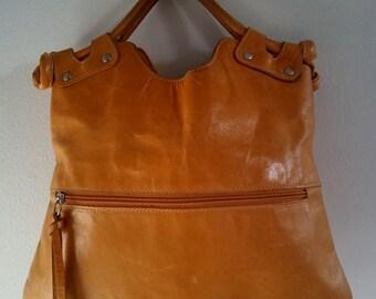 Pietro Alessandro New York Leather Bag