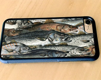 Surf Fishing, Red Drum, Strippers, Fish,  iPhone 5/5s, iPhone 6/6s, iPhone 6 Plus, iPhone 7, iPhone 7 Plus